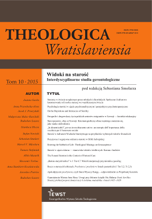 Theologica Wratislaviensa 10 (2015)